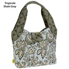 All Diaper Bags Amy Butler Honeysuckle Tote Tropicali Shale Gray