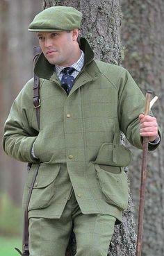 Chrysalis Tweed Shooting Coat