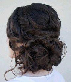 1000+ ideas about Brunette Wedding Hairstyles on Pinterest | Side ...