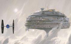 Ralph McQuarrie - Star Wars concept art