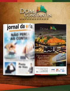 Anúncio Jornal da Orla Santos - DOM CONSTANTIN - FIRE Mídia  http://firemidia.com.br/ofertas-supermercado-dom-constantin-fire-midia/