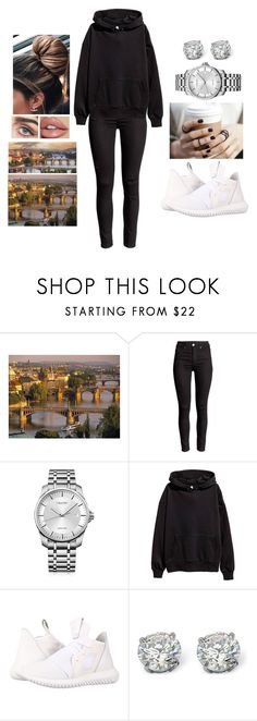 """""""Travelling to Prague, Czech Republic 🇨🇿"""" by teodoramaria98 ❤ liked on Polyvore featuring Calvin Klein, adidas Originals and Palm Beach Jewelry"""