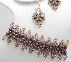 Deb Roberti's Victorian Bracelet and Earrings