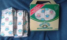 Vintage CABBAGE PATCH KIDS  DESIGNER DIAPERS COLECO 6 new in box + 3  #COLECO…