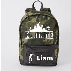 406b9ff4f46 Fortnite Bag - Personalised fortnite camo bag- camo backpack - floss like .