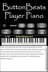 ButtonBeats Player Piano