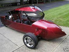 125mpg homebuilt Trike