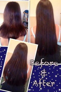 Kirsty's micro ring hair extensions Hair by Kiri