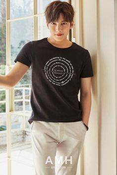 Ji Chang Wook for AMH Summer 2016 Collection ❤️ J Hearts