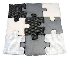 Puzzle Pillows | Kids Furniture That Really Should Come In Adult Sizes