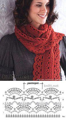 Crochet Scarf Diagram, Crochet Poncho Patterns, Crochet Cardigan, Crochet Scarves, Crochet Shawl, Crochet Clothes, Knit Crochet, Bedclothes, Fleece Scarf