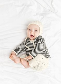 Organic Pima Cotton Layette Collection from @Hanna - super-soft and adorable patterns!