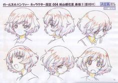 Anime instruction sheet