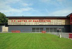 Soccerphile Blog: FC United of Manchester v Brackley Town