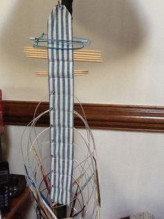 Circular needle holder (DIY)