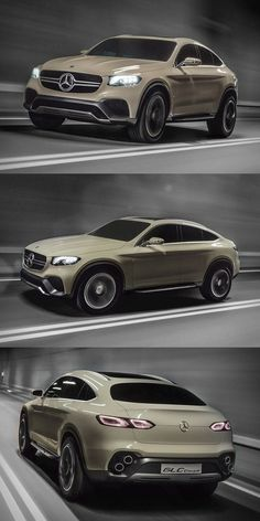 """ MERCEDES-BENZ CONCEPT GLC COUPE"" Most luxurious SUVs In The World 2017 Best luxury SUVs"