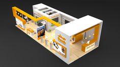 Exhibition Stall Design, Kuala Lumpur City, Curve Design, Stand Design, Pavilion, Laundry Room, Concept Art, Career, Interior Design