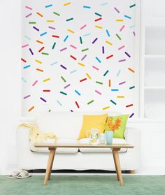 Vinyl Wall Sticker Decal Art - Confetti Sprinkle Packs