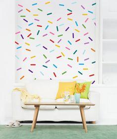 Vinyl Wall Sticker Decal Art Confetti Sprinkle by urbanwalls