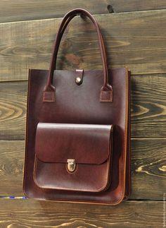 Купить Сумка-пакет из кожи арт. 8034 купить - Кожаная сумка, сумка женская