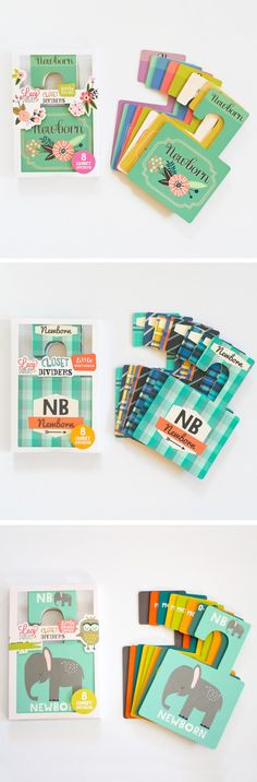 nursery closet dividers by lucy darling shop