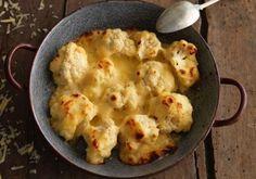 Tendência no Pinterest em todo o mundo, segue 8 receitas low carb em que a couve-flor é a estrela do prato.