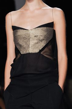 Narciso Rodriguez SS 2013... I love how this is casual about how awesome it is.