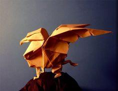 Beautiful pictures of origami Origami Girl, Origami Swan, Origami Rose, Origami Dragon, Fabric Origami, Paper Crafts Origami, Oragami, 3d Origami, Origami Ideas