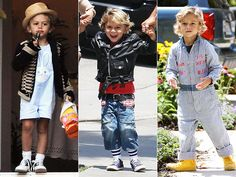 Kingston Rossdale-- my style icon and probably one of the trendiest celeb kids of all time!