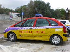 Policia local @ Sant Josep, Ibiza, Spain