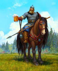 Гилёв Степан ( Stepan Gilev ). Сообщество иллюстраторов | Иллюстрация Постер для пива