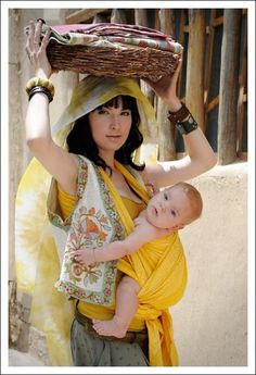 Zara Sun Ellevill Wrap Baby Carrier