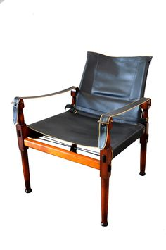 Just In From Pico Modern: Vintage Army Campaign Chair. $395