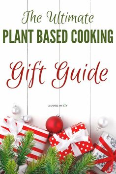 The ultimate plant based cooking gift guide. Cool and helpful tools for the vegan kitchen. Check out these clever Christmas ideas for anyone who enjoys the plant based diet.