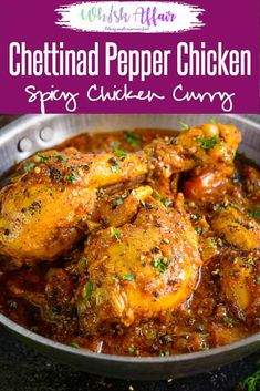 Planning to make a totally different chicken recipe this weekend? Call dibs on Chettinad Pepper Chicken then! It is an exotic Pepper Chicken Recipe that brings variety to your boring meals. Serve it with rice or piping hot rotis for a hearty meal. Different Chicken Recipes, Recipes With Chicken And Peppers, Chicken Stuffed Peppers, Spicy Chicken Recipes, Easy Indian Chicken Recipes, Indian Chicken Fry Recipe, Pakistani Chicken Recipes, Chicken Snacks, Chicken Recepies