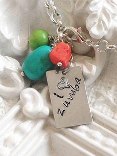 I Love Zumba Necklace   only $12