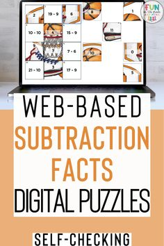 These web-based digital puzzles are a fun & engaging way to review all those subtraction facts. These puzzles are a fun way to practice subtraction facts. These puzzles are no prep and self checking. Great for subtraction fluency, test prep or just review! These puzzles work on any device with internet connection!