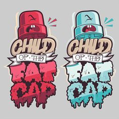 child of the fat cap on Behance