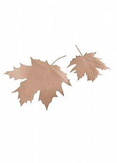Leaves are Falling - Σετ 2 τχ. Διακοσμητικά φύλλα, 30 - 45 cm Leaf Tattoos, Leaves