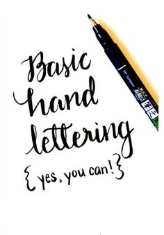 Learn Hand Lettering with these Free Tutorials - Great for learning Autumn Quotes