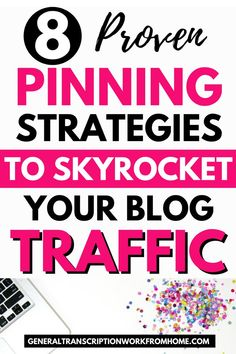 8 Proven Pinning Strategies to Skyrocket Your Blog Traffic #Pinterest #getmoreclicks #blogging #blogtraffic Web Design Tips, Best Blogs, Blogging For Beginners, Make Money Blogging, Online Jobs, Pinterest Marketing, Blog Tips, How To Start A Blog, About Me Blog