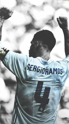 Sergio Ramos 4 Ramos Real Madrid, Real Madrid Team, Real Madrid Players, Football Is Life, Best Football Team, Cristiano Ronaldo, Soccer Pictures, Soccer Pics, Lionel Messi