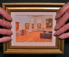 Miniature Paintings by Wes and Rachelle Siegrist