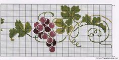 виноград схема вышивки - Αναζήτηση Google