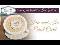 Shaped Fire and Ice Easel Card | PartiCraft (Participate In Craft) | Bloglovin'