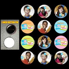 #Fresh #Beat #Band Set of 12 1-inch #Buttons - Make Great #Party #Favors #handmade #thecraftstar $4.99