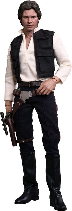 Star Wars | Han Solo 1/6th Scale Hot Toys Action Figure | Hot Toys | Popcultcha