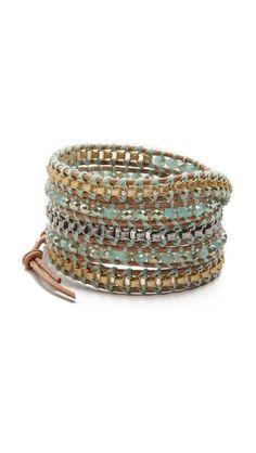 $140 Chan Luu Beaded Wrap Bracelet
