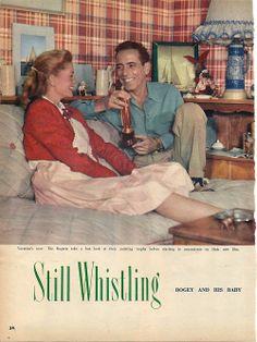 Bacall and Bogart <3