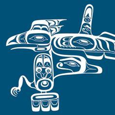 Haida Sea Monster. Native  Design Premium Wall Art by DigitalDraft, $22.00